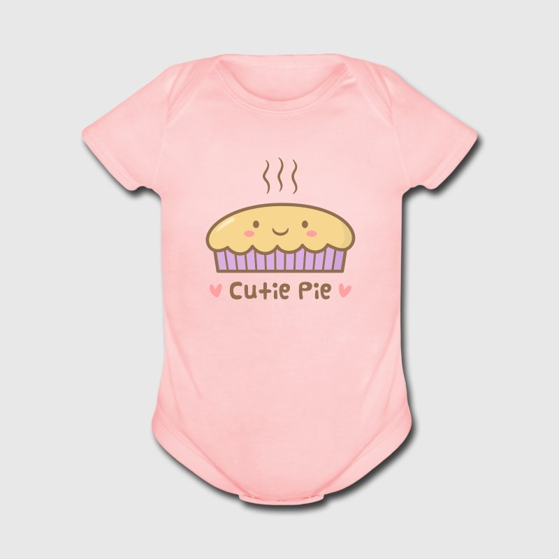 Cute Cutie Pie Doodle Baby & Toddler Shirts - Short Sleeve Baby Bodysuit