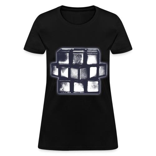 Grunge Cube Women's T-Shirt - Women's T-Shirt