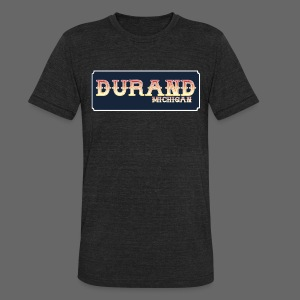 Durand MI - Unisex Tri-Blend T-Shirt by American Apparel