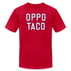 Oppo Taco (Los Angeles) - Men's T-Shirt by American Apparel