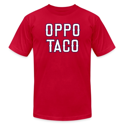 Oppo Taco (Los Angeles) - Men's Fine Jersey T-Shirt