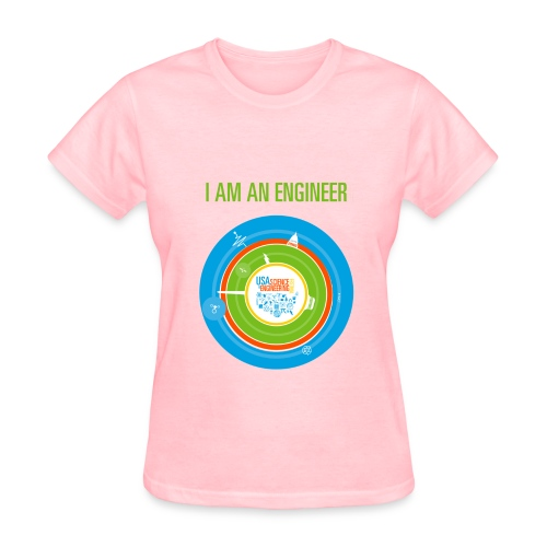Women's I am an Engineer T-Shirt (Front and Back Design) - Women's T-Shirt
