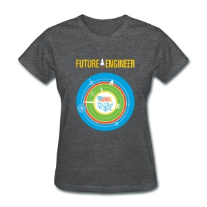 Women's Future Engineer T-Shirt (Front and Back Design) - Women's T-Shirt