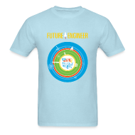 T-Shirts ~ Men's T-Shirt ~ Men's Future Engineer T-Shirt (Front and Back Design)