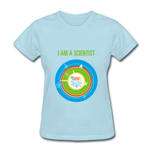 Women's I am a Scientist T-Shirt (Front and Back Design) - Women's T-Shirt