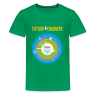 Kids' Shirts ~ Kids' Premium T-Shirt ~ Kids Future Engineer T-shirt (Front and back Design)