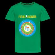 Kids' Shirts ~ Kids' Premium T-Shirt ~ Kids Future Engineer T-shirt (Front and back Design)