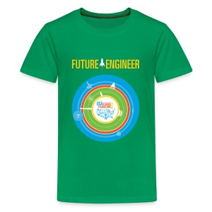 Kids Future Engineer T-shirt (Front and back Design) - Kids' Premium T-Shirt