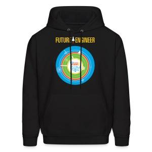 Men's Future Engineer Hoodie (Front and Back Design) - Men's Hoodie