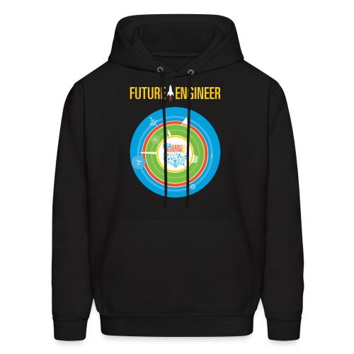 Men's Future Engineer Hoodie (Front and Back Design) - Men's Hoodie