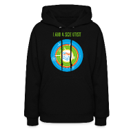 Hoodies ~ Women's Hoodie ~ Women's  I am a Scientist Hoodie  (Front and Back Design)