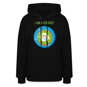 Women's  I am a Scientist Hoodie  (Front and Back Design) - Women's Hoodie