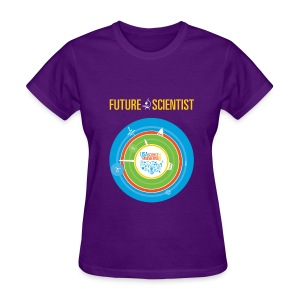 Women's Future Scientist Shirt (Front and back Design) - Women's T-Shirt