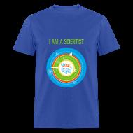 T-Shirts ~ Men's T-Shirt ~ Men's I am a Scientist T- Shirt (Front and Back Design)