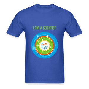 Men's I am a Scientist T- Shirt (Front and Back Design) - Men's T-Shirt