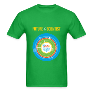 T-Shirts ~ Men's T-Shirt ~ Men's Future Scientist T-Shirt (Front and Back Design)