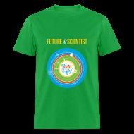 T-Shirts ~ Men's T-Shirt ~ Men's Future Scientist T-Shirt (Front and Back Design)