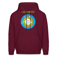 Hoodies ~ Men's Hoodie ~ Men's  I am a Scientist Hoodie  (Front and Back Design)