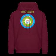 Hoodies ~ Men's Hoodie ~ Men's  I am a Scientist Hoodie  (Front and Back Design)