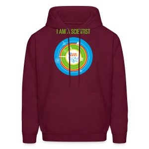 Men's  I am a Scientist Hoodie  (Front and Back Design) - Men's Hoodie