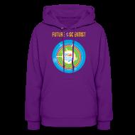 Hoodies ~ Women's Hoodie ~ Women's Future Scientist Hoodie (Front and Back Design)