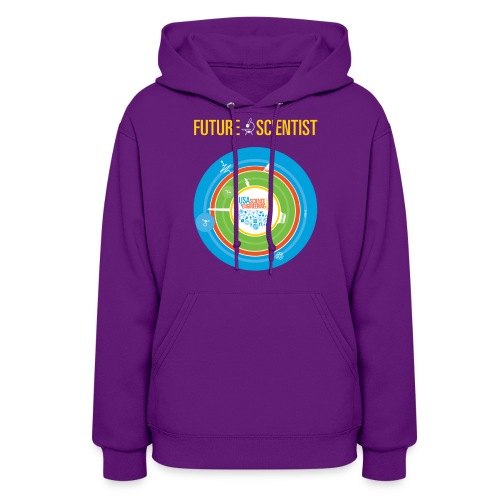 Women's Future Scientist Hoodie (Front and Back Design) - Women's Hoodie