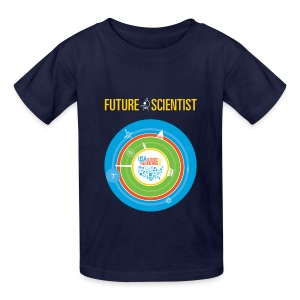 Kid's Future Scientist T-Shirt (Front and Back Design) - Kids' T-Shirt