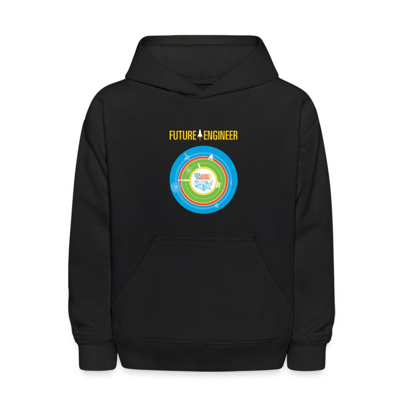 Kid's Future Engineer Hoodie (Front and Back Design) - Kids' Hoodie