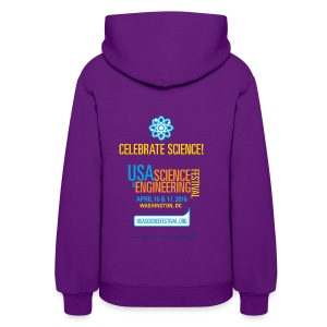 Women's Festival Hoodie (Front and Back Design) - Women's Hoodie