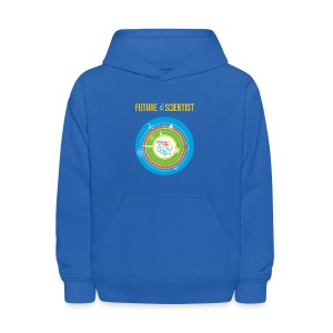 Kid's Future Scientist Hoodie (Front and Back Design) - Kids' Hoodie