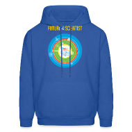 Hoodies ~ Men's Hoodie ~ Men's Future Scientist Hoodie (Front and Back Design)