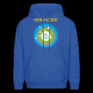 Hoodies ~ Men's Hoodie ~ Men's Future Scientist Hoodie (Front and Back Design)