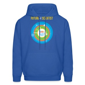 Men's Future Scientist Hoodie (Front and Back Design) - Men's Hoodie