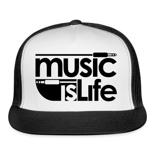 Music is Life Hat - Trucker Cap