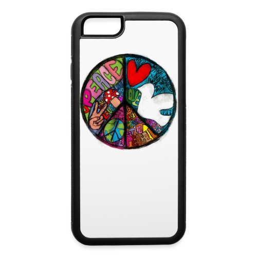 iPhone 6/6s Rubber Case - Wear it with pride &show your #positive #lifestyle