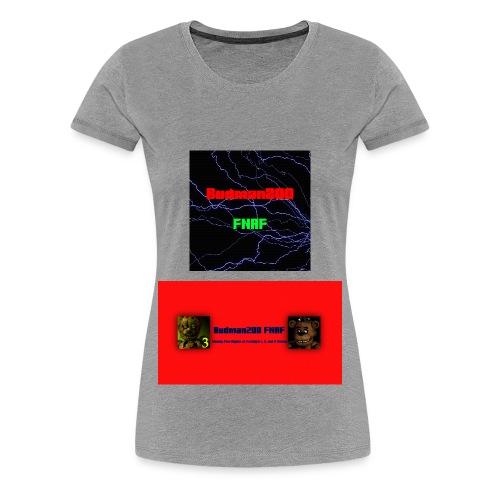 Budman200 FNAF Womens T-Shirt - Women's Premium T-Shirt