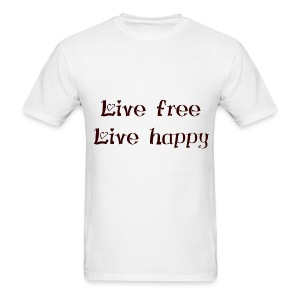 Men's T-Shirt - Wear it with pride &show your #positive #lifestyle