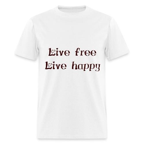 Men's T-Shirt - Wear it with pride &show your #positive #lifestyle