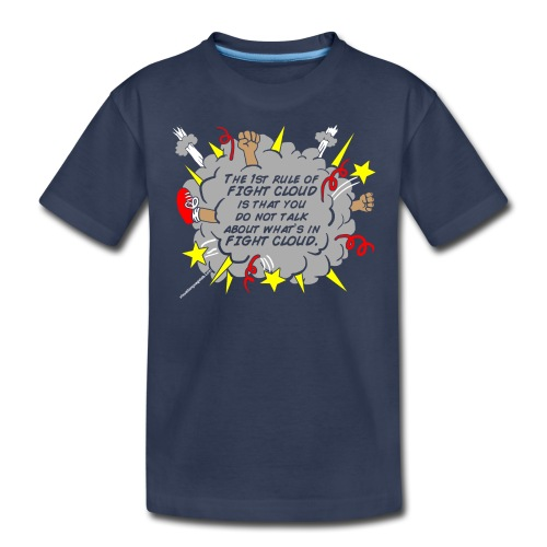The Rules of Fight Cloud - Kids' Premium T-Shirt