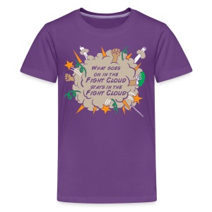 What goes on in Fight Clouds? - Kids' Premium T-Shirt