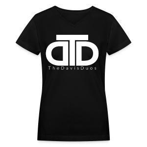 TheDavisDuos Women's V-Neck T-Shirt - Women's V-Neck T-Shirt