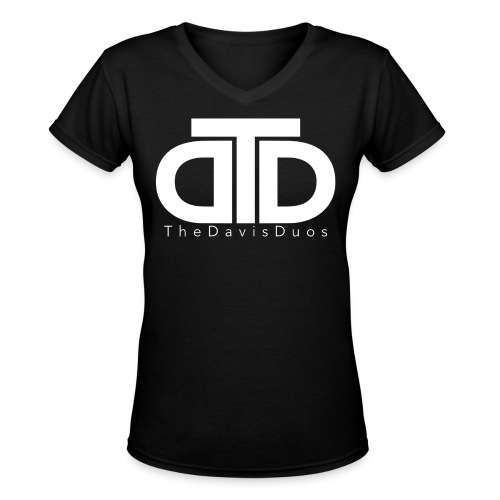 TheDavisDuos Women's V-Neck T-Shirt - Women's V-Neck T-Shirt
