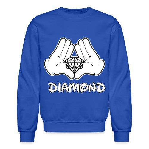 Blue Dmnd Crew - Crewneck Sweatshirt