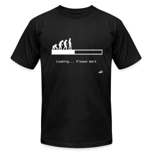 Loading... - Men's T-Shirt by American Apparel