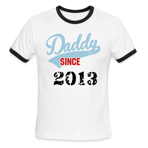 Men's Ringer T-Shirt - gift,fathers day,daddy,2013
