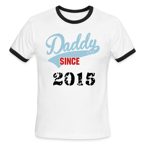Men's Ringer T-Shirt - gift,fathers day,daddy,2015