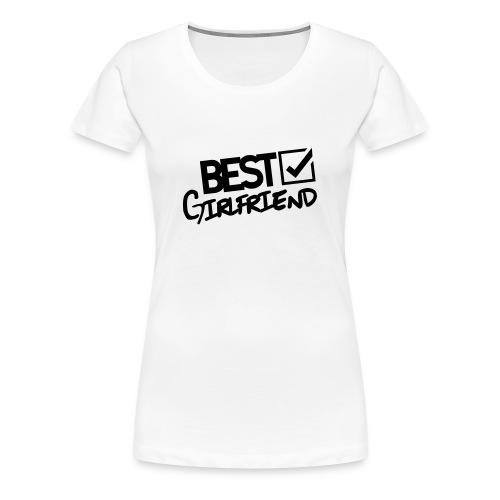 Best_girlfriend - Women's Premium T-Shirt