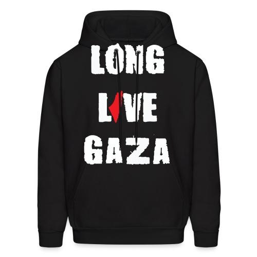 Long Live Gaza  - Men's Hoodie