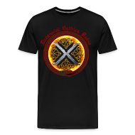 T-Shirts ~ Men's Premium T-Shirt ~ Decennial Gothica Radio Logo