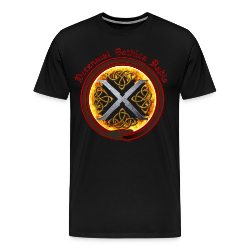 Decennial Gothica Radio Logo - Men's Premium T-Shirt